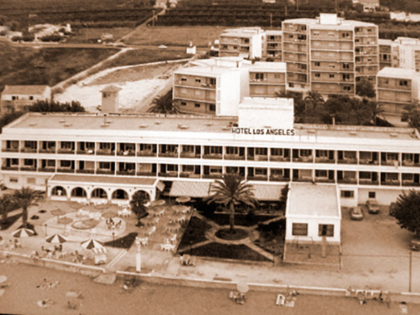 historia 1 - History HOTEL LOS ÁNGELES,<br/> YOUR HOTEL ON THE BEACH