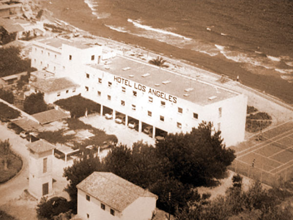 historia 2 - History HOTEL LOS ÁNGELES,<br/> YOUR HOTEL ON THE BEACH