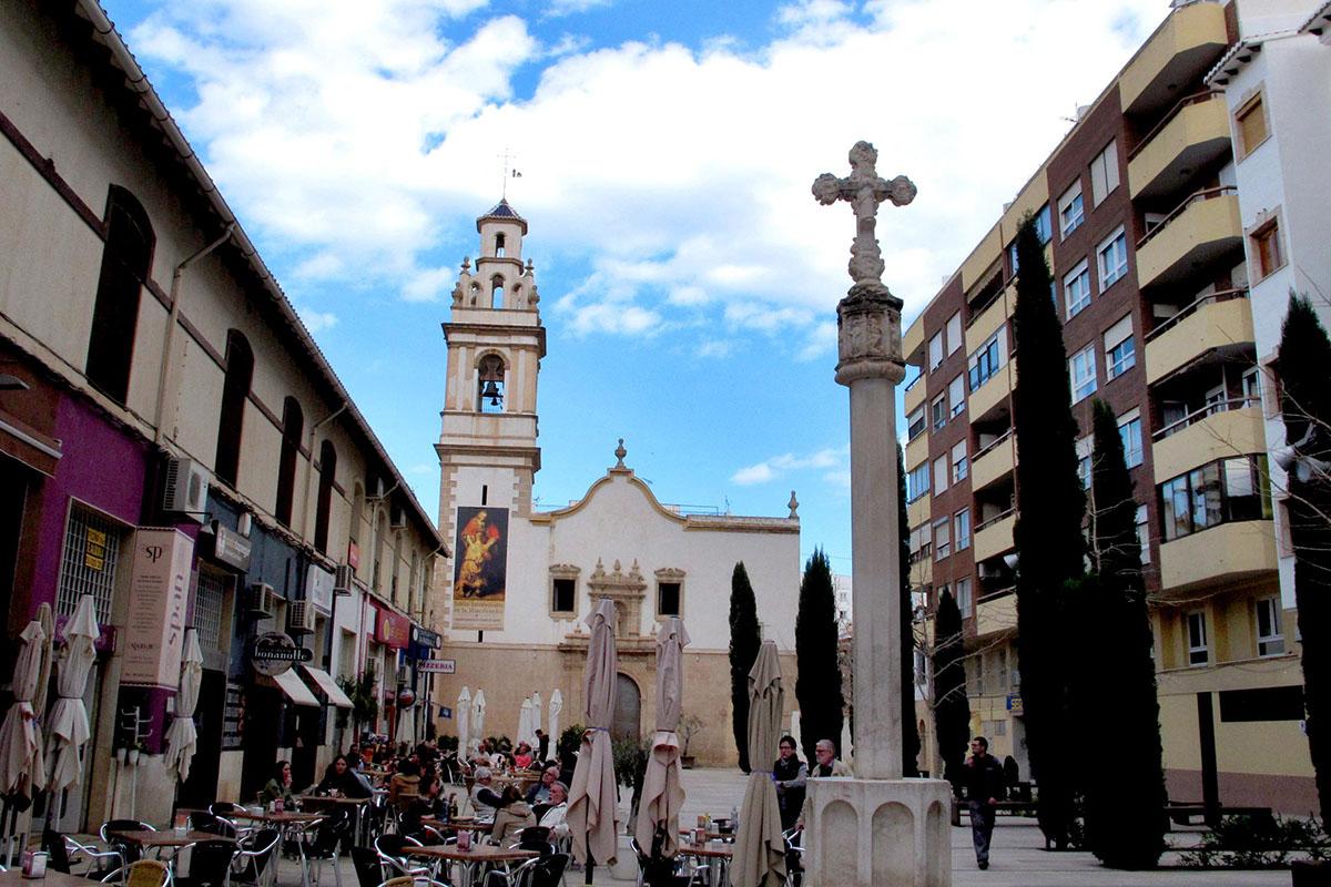 Iglesia de Sant Antoni web - Un paseo por Denia