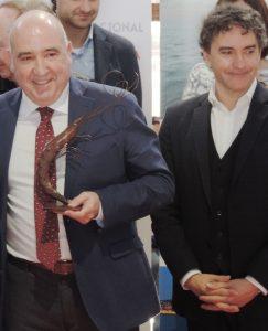 Pepe Vidal i Francesc Colomer 243x300 - La gamba de Dénia, motor de superación
