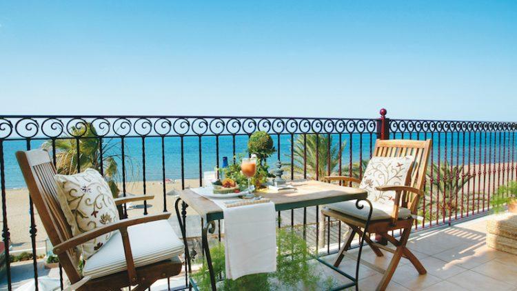 Suite Junior con terraza Vistas al Mar