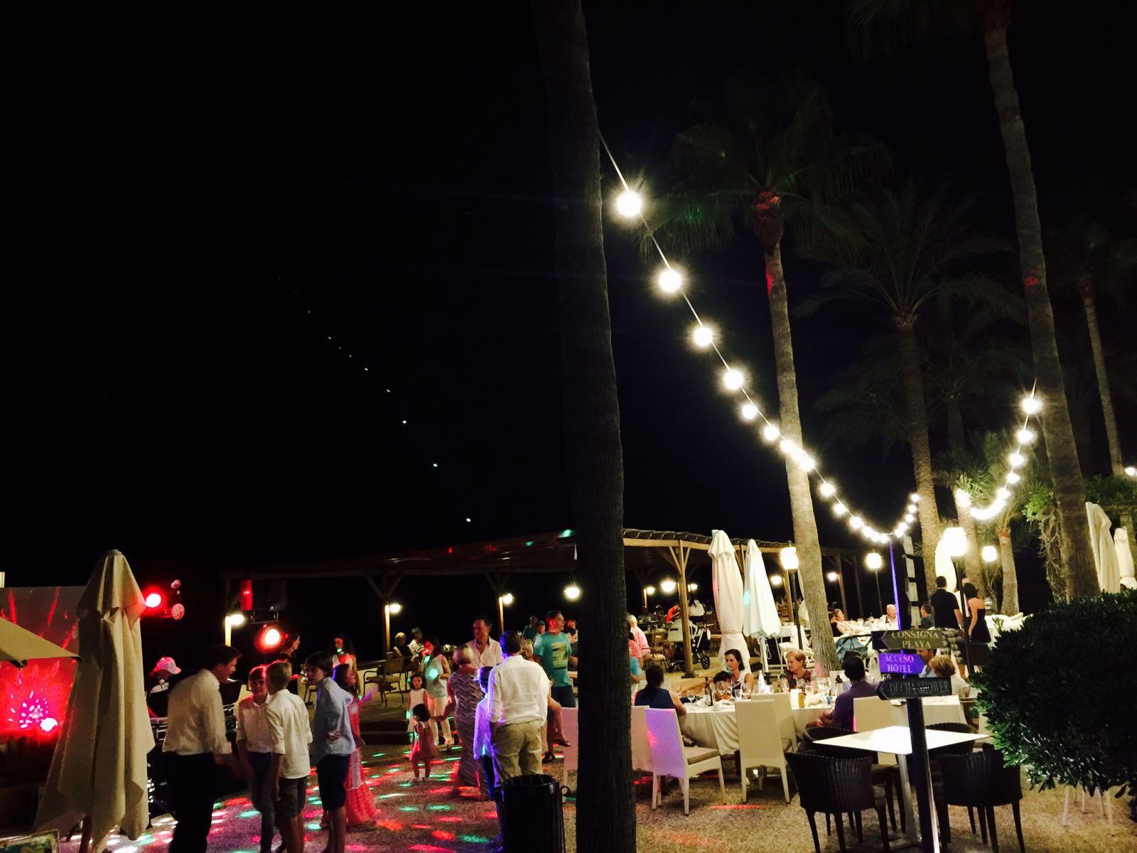 barbacoa - Noche de San Juan en el Hotel Los Ángeles Denia