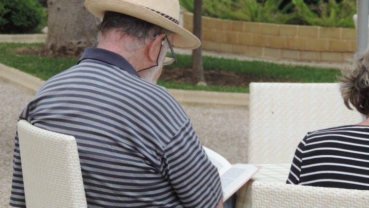La lectura, compañera en un agosto relajado