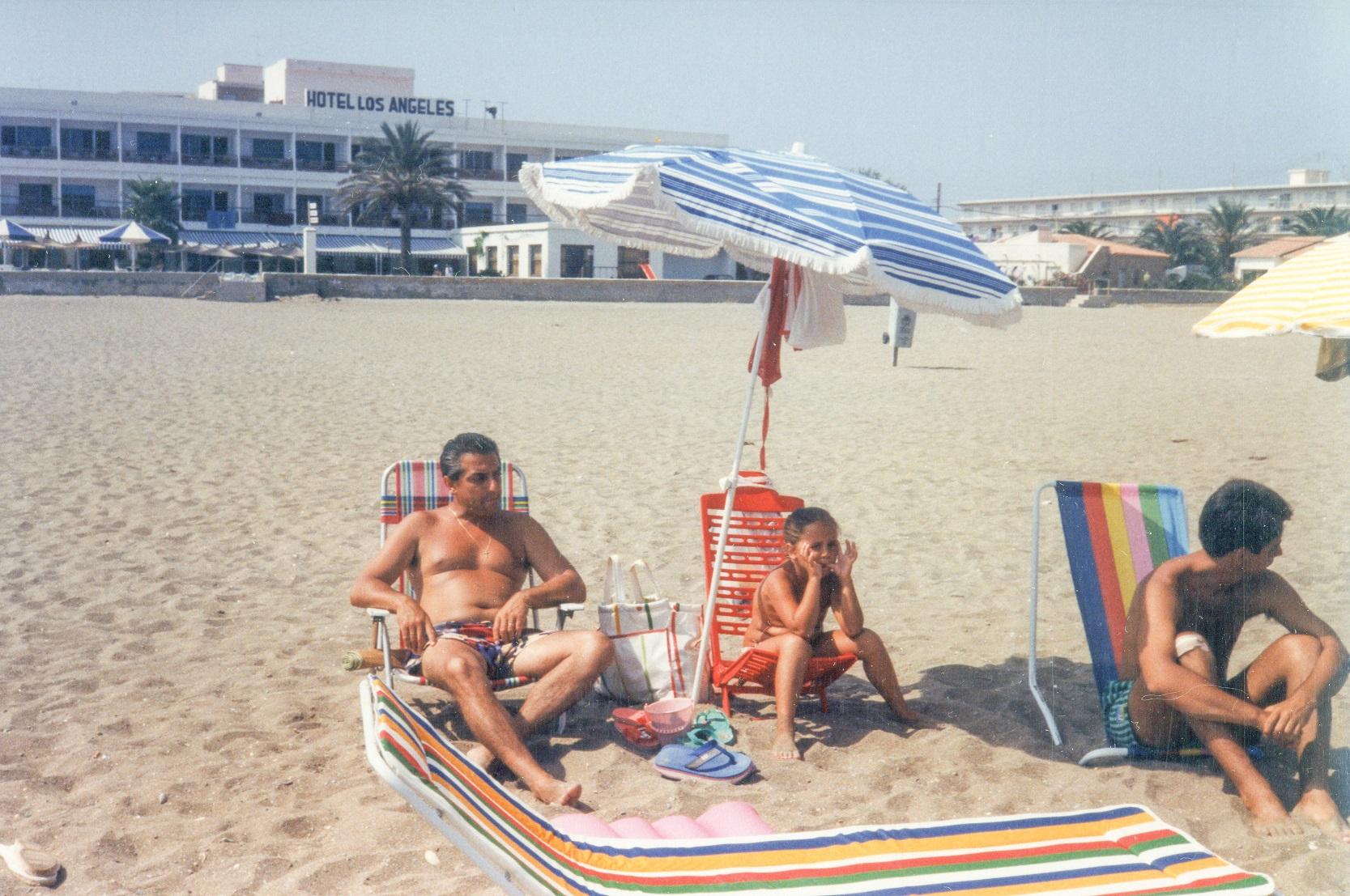 Jordá 1986 - Javier Jordá. El turismo alcoyano en el Hotel Los Ángeles