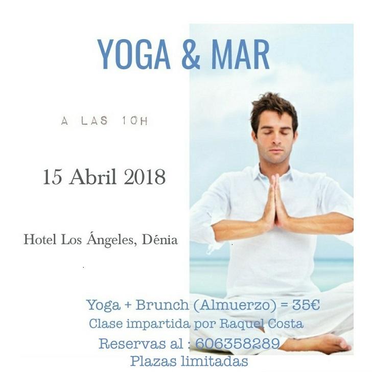 Yoga y mar en el Hotel Los Ángeles